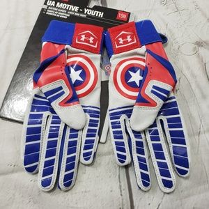 Under Armour Accessories - Under Armour Batting Gloves UA Motive Youth Size S